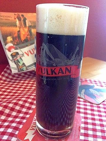 Das Dunkle aus der Vulkan-Brauerei.